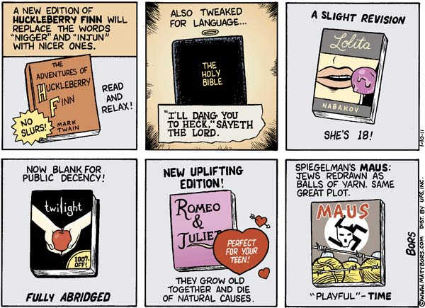 Censorship in books